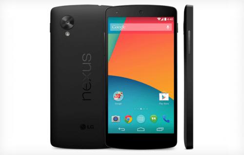 Oops! Nexus 5 Briefly Appears on Google Play Store