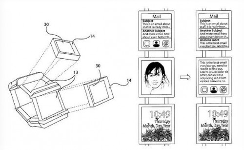 Nokia Patents Multi-Display Facet Smartwatch Design