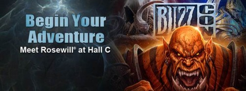 Rosewill Wants to Wow You at BlizzCon 2013