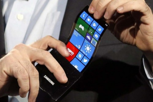Samsung Flexible and Foldable Smartphone Design Concepts