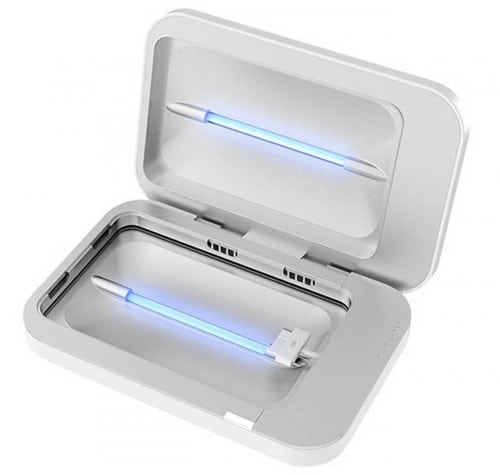 PhoneSoap: Charge Your Phone and Clean It Too!