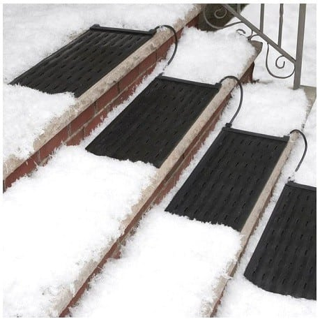 Ease Winter Woes With HeatTrak Heated Stair Mat