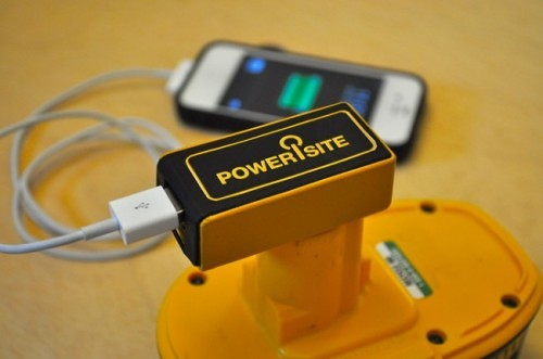 PoweriSite Lets Your DeWalt Battery Power More Than Just Your Tools