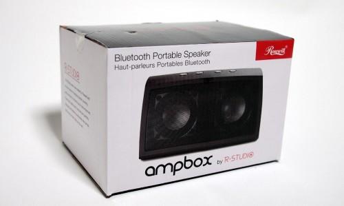 MEGATech Reviews - Rosewill R-Studio AMPBOX Bluetooth Portable Speaker
