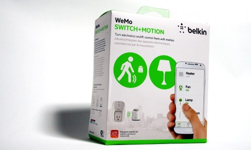 MEGATech Reviews - Belkin WeMo Switch + Motion Wireless Home Automation
