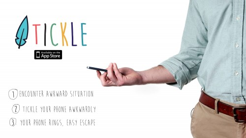 Tickle Your Way Out of Awkward Social Obligations