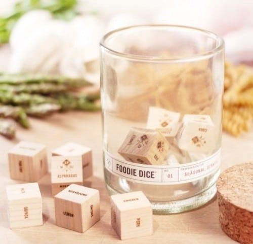 Foodie Dice: Random Meals Never Tasted So Good