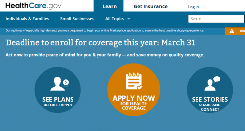Healthcare.gov Crashes Once More on Last Day to Sign Up