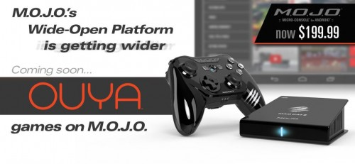 Mad Catz M.O.J.O. Android Micro Console Gains OUYA Support, Drops Price by $50