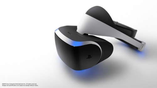Sony Unveils Project Morpheus VR Headset at GDC 2014