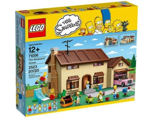 simpsons house box