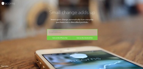 Invest Your Spare Change With Acorns for iOS/Android