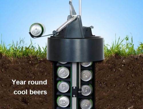 No Cooler? eCool Beer Cooler Says No Problem