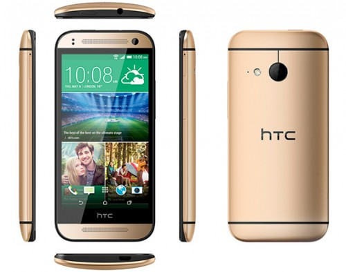 Official: HTC One Mini 2 Gets 4.5-Inch 720p Screen, 13MP Camera
