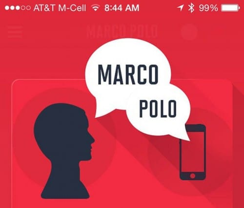 """Lost Your iPhone? Just Yell, """"Marco!"""""""