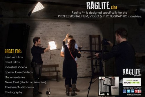 RagLite Fabric-Mounted LED Light Banks Are Really Flexible