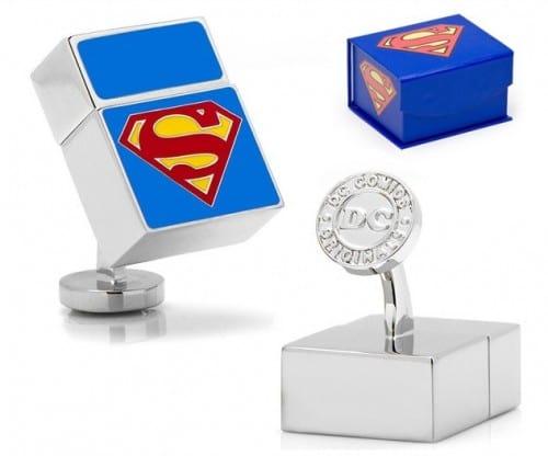 superman cufflink