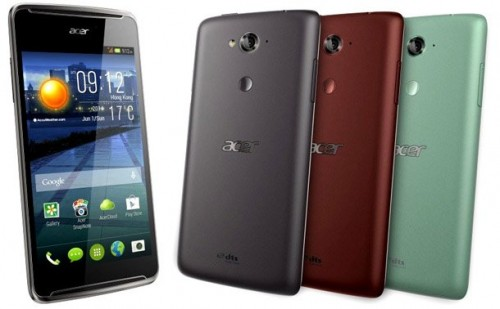 Acer Announces Five Smartphones and a Fitness Band