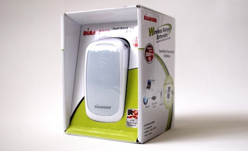 MEGATech Reviews - Diamond Multimedia WR600NSI Dual Band Wireless Range Extender
