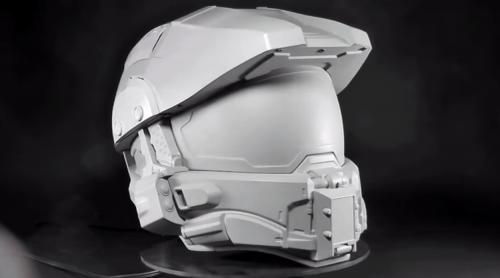 NECA Making Master Chief Motorcycle Helmet