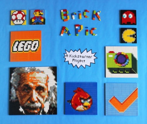 Brick-A-Pic Converts Your Favorite Photo to LEGO
