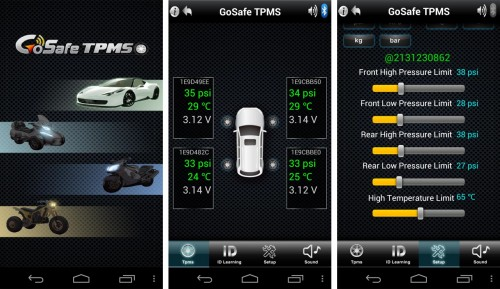 MEGATech Video Reviews: PAPAGO! GoSafe TPMS 500 BT Tire Pressure Monitor System