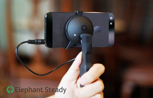 Elephant Steady Steadies Your iPhone for Smooth Video