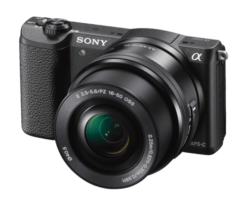 Sony a5100 - side
