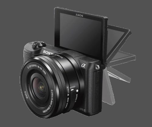 Sony A5100 - flip display