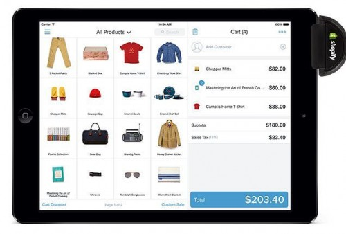 Shopify E-Commerce Invades the Real World with Secure POS