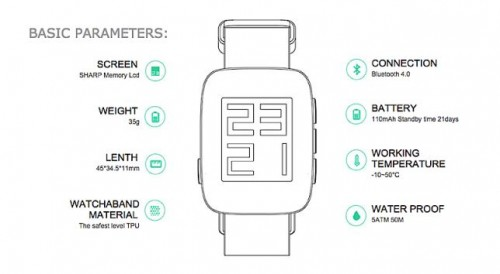 The $75 Tommy Smartwatch to Challenge Android Wear