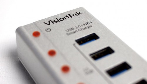 MEGATech Reviews:  VisionTek Charge & Sync USB 3.0 Seven Port Hub (900725)