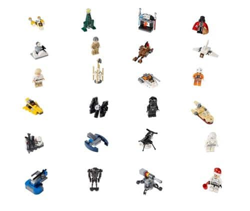 LEGO Star Wars Advent Calendar Ensures Happy Holidays