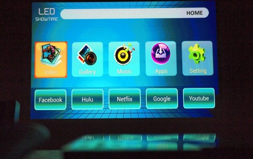 MEGATech Video Reviews: AAXA LED Android Pico Projector