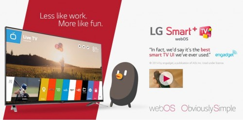 Sponsored Post: webOS LG Smart TV Is Obviously Simple
