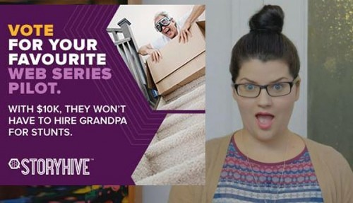 Sponsored Post: Vote for Your Favorite Storyhive Videos