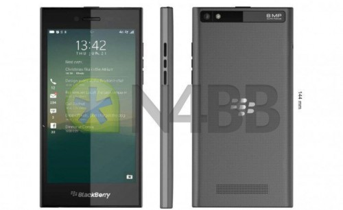BlackBerry Rio Z20 Leaked Pictures Hit the Internet