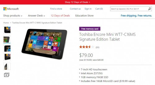 Discounted Windows 8.1 Tablet Comes with Free Office 365, 1TB OneDrive