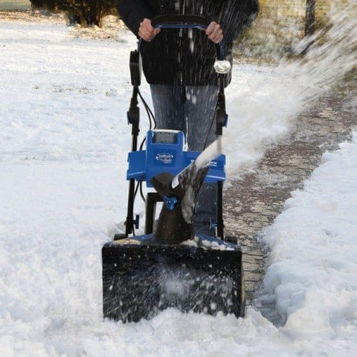 Beat Winter with a Rechargeable Cordless Snowblower