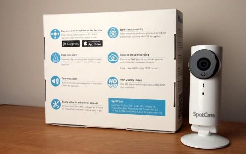 MEGATech Reviews: SpotCam HD Wi-Fi Video Monitoring IP Camera