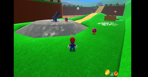 Play Super Mario 64 in Your Browser