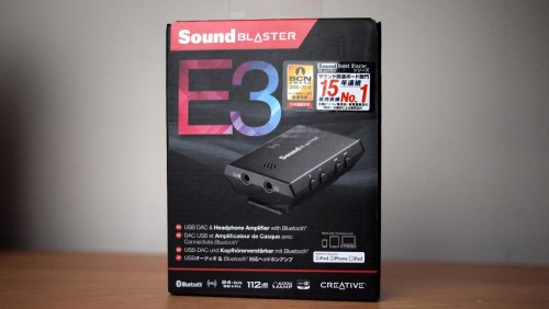 MEGATech Reviews: Creative Sound Blaster E3 USB DAC and Headphone Amplifier