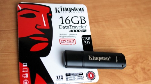 MEGATech Reviews: Kingston DataTraveler 4000 G2 Secure USB Flash Drive