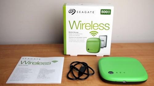 MEGATech Reviews: Seagate Wireless Mobile Storage Drive
