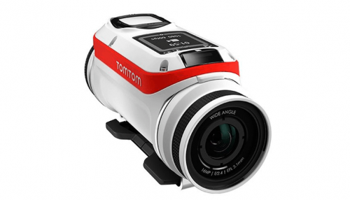 The TomTom Action Camera Makes Uploading Videos a Breeze