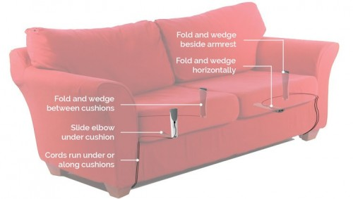 Couchlet Puts Power Where You Want It