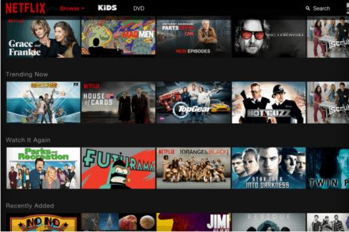 New Netflix Web Interface On The Way