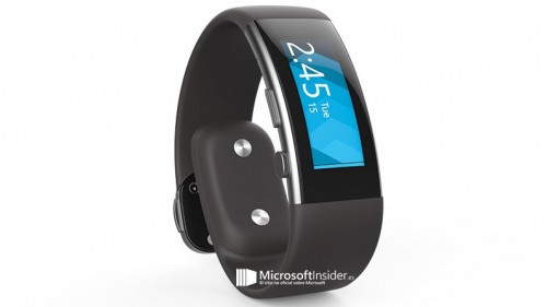First Look: Microsoft Band 2 with Curved Display