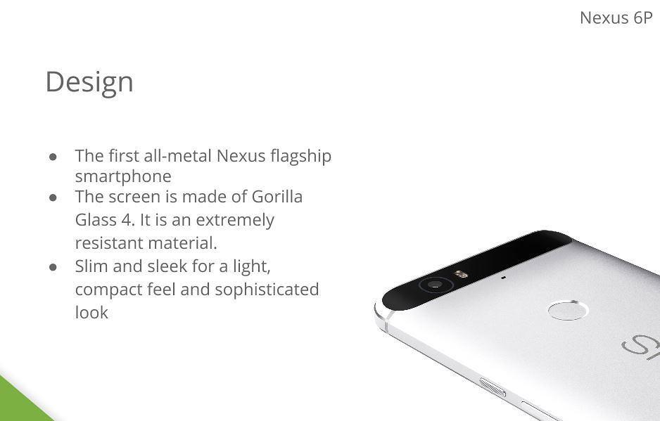 Leak Confirms Nexus 6P All-Metal Body, 3450mAh Battery