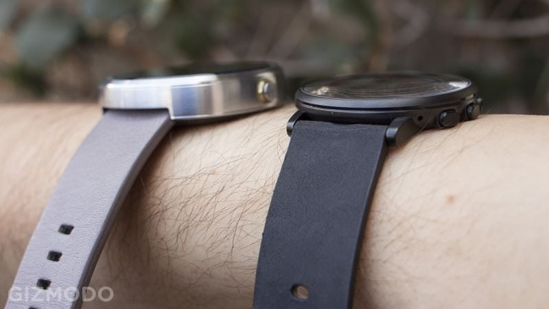 The Delightfully Thin Pebble Time Round Smartwatch